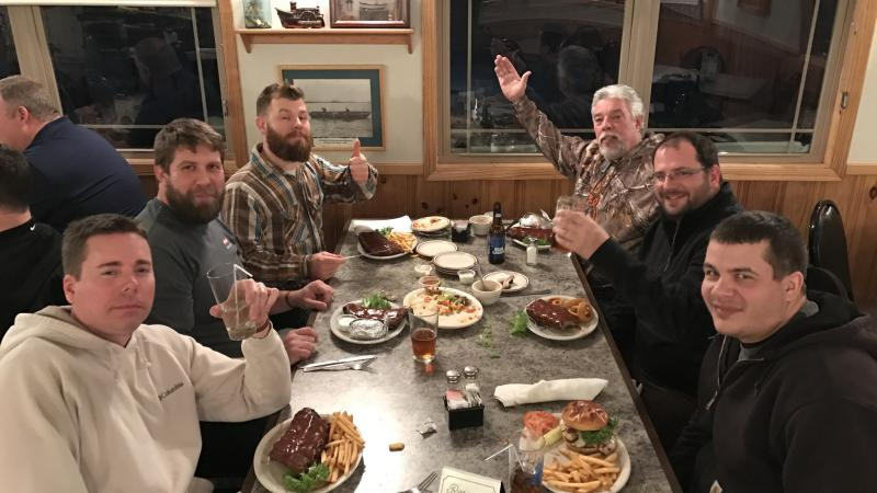 2017 Contractor Fishing Trip